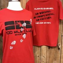 100 Mile Club #NoExcuses T-Shirt