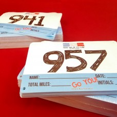 100 Mile Club® Custom Race Bibs (Set of 25)