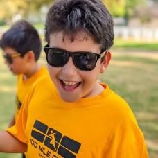 100 Mile Club Sunglasses (Black/Gold)