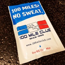 100 Miles? No Sweat! Runner Wipes