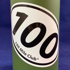100 Mile 'Marathon' Sticker