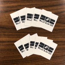 100 Mile Club #OnYourMarks Temporary Tattoo (10 Pack)
